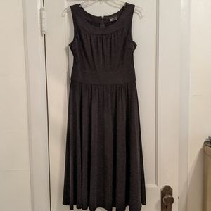 Max and Cleo sleeveless black dress